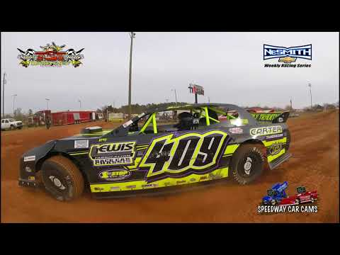 #409 Allen Carter - Street Stock - ICE BOWL 2018 - Talledega Short Track - In Car Camera