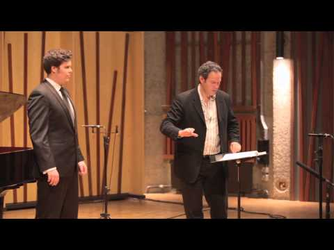 Guildhall Masterclass: Gerald Finley Vocal Masterclass - Thomas Atkins