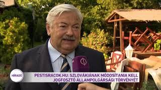 Pestisrácok.hu: Módosítania kell Szlovákiának jogfosztó állampolgársági törvényét