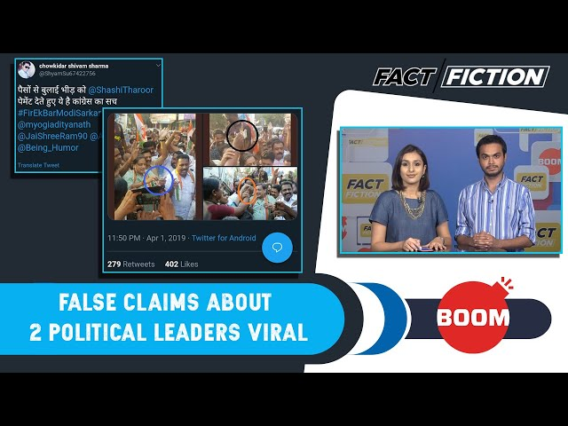 Fact Vs Fiction: False Claims About 2 Political Leaders Viral