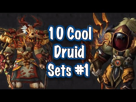 Jessiehealz - 10 Cool Druid Transmog Sets #1 (World of Warcraft)
