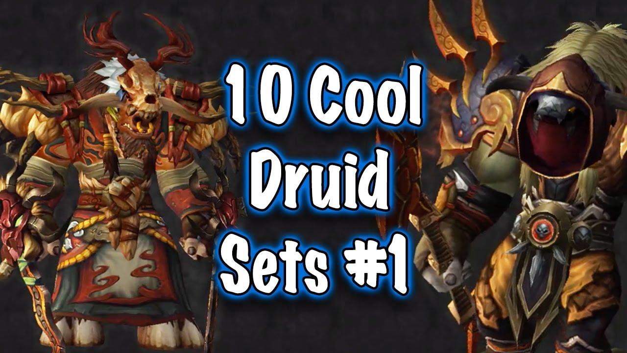 Jessiehealz 10 Cool Druid Transmog Sets 1 World Of Warcraft