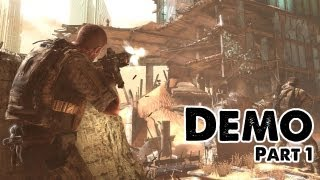 Spec Ops: The Line Demo - Part 1 (Walkthrough/Commentary) Xbox 360/PS3/PC