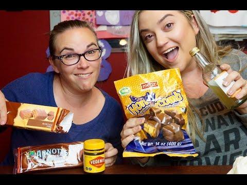 Czech-Americans try Australian Foods