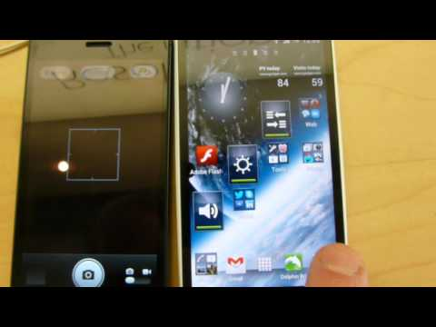 iPhone 5 VS Sony Ericsson Xperia Arc S