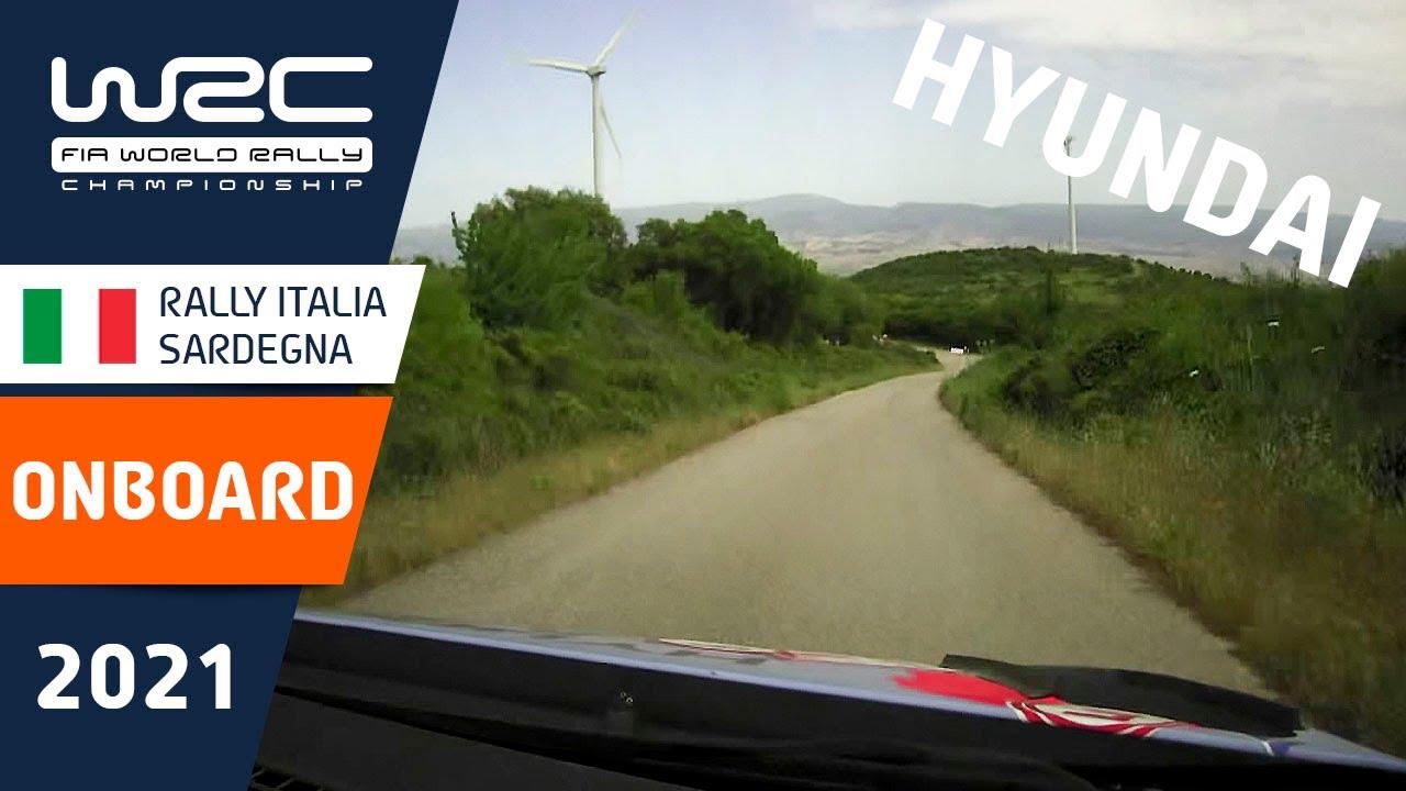 ONBOARD compilation HYUNDAI - WRC Rally Italia Sardegna 2021