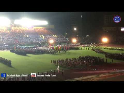 Opening Ceremony The First National Game at Olympic Stadium, Phnom Penh Cambodia (Part 2)