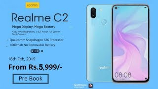 Realme C2 OFFICIAL - Price, Design, Features & Release date