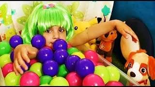 Learn Colors the Ball Pit Show Children's Educational Video Teach colours for kids Children Toddlers