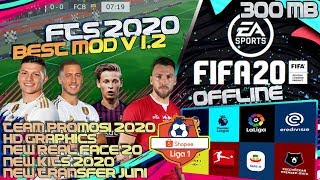 FTS 19 MOD FIFA 20 ULTIMATE PATCH LIGA 1 INDONESIA NEW UPDATE