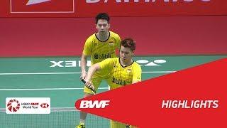 DAIHATSU Indonesia Masters 2018 | Badminton MD - F - Highlights | BWF 2018