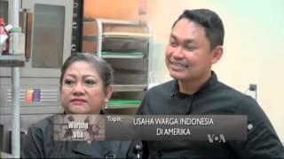 Usaha Warga Indonesia di Amerika (2) - Warung VOA