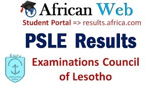 PSLE Results 2017 Lesotho - How to Check?