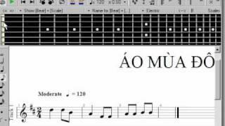 CHÉP NHẠC BẰNG PHẦN MỀM GUITAR PRO 5.0