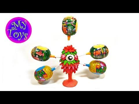Видео, Чупа Чупс стикиз открываем яйца Stikeez Chupa Chups toys, unboxing eggs surprise Chupa Chups Stikeez