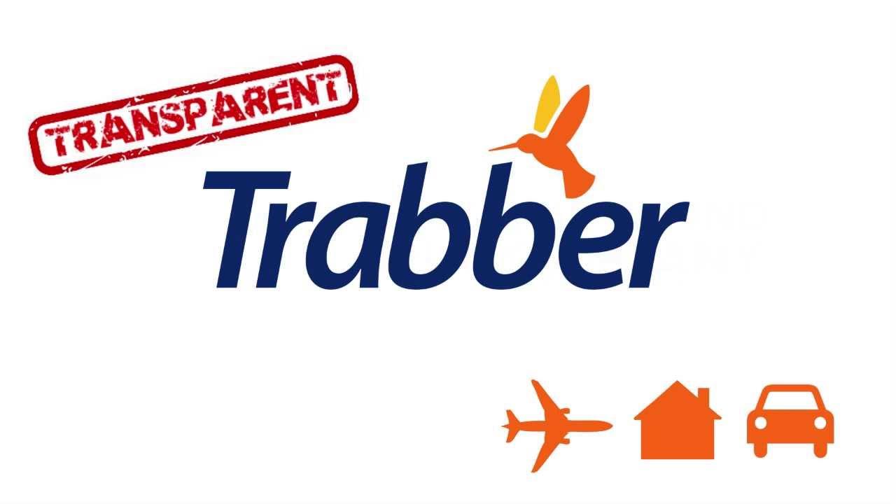 Logo de trabber en el portal de vídeo youtube