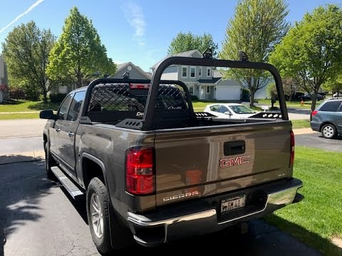 dee zee aluminum truck rack install and review