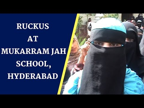 RUCKUS AT MUKARRAM JAH SCHOOL, HYDERABAD | BBN News |