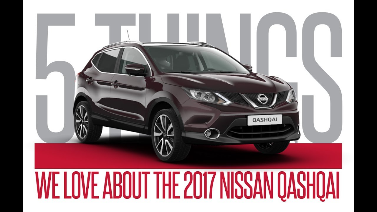 2017 Nissan Qashqai: 5 Things We | 401 Dixie Nissan ...