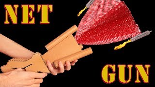 How to Make a Net Gun from Cardboard DIY Projects!