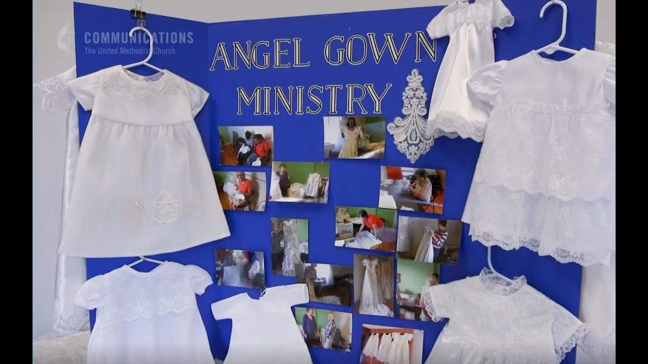 Recycled Bridal Gowns for Lost Babies - YouTube