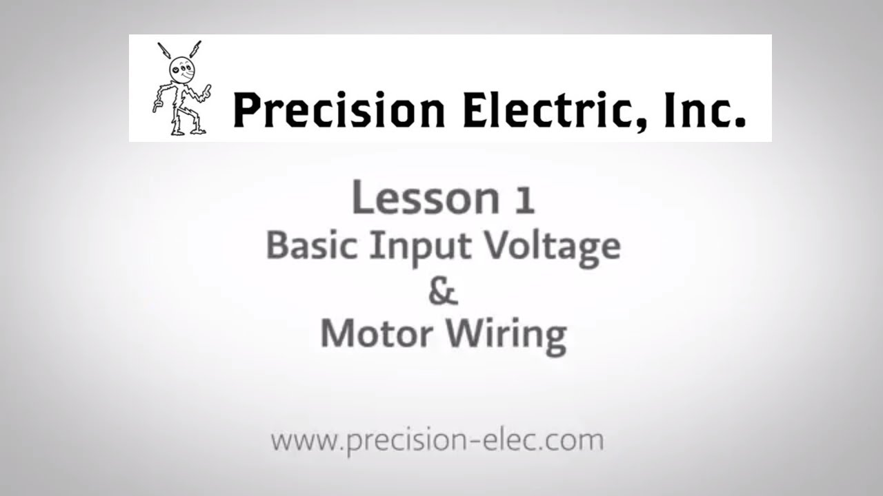 EATON SVX9000 Training Lesson 1: Basic Input Voltage & Motor Wiring -  Variable Frequency Drives - YouTube