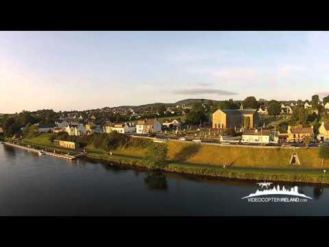 Some Ariel Views Of Killaloe. Co Clare & Ballina, Co. Tipperary