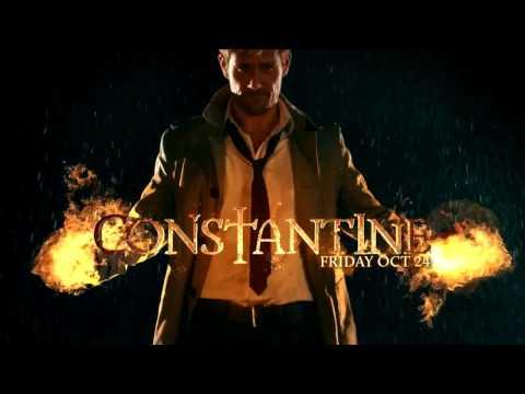 Константин против Папы Миднайта в сериале Константин 1 сезон