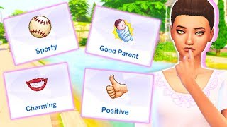 13 NEW TRAITS FOR YOUR SIMS!😱 // CHARMING, SPORTY, POSITIVE + MORE! | MOD REVIEW - THE SIMS 4