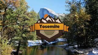 Yosemite National Park Aerial Vacation