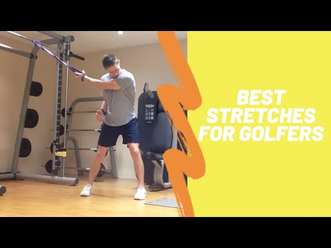 Best Stretches for Golfers Flexibility