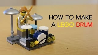 LEGO Drum, How To Make A Lego Drum,  Lego stop motion ,lego animation