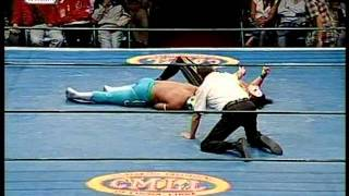 CMLL - Stuka Jr. vs. Virus, 2009/02/16, lightning match