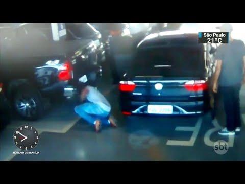 Em SP, polícia prende quadrilha que furtava rodas de carros de luxo | SBT Brasil (15/05/18)