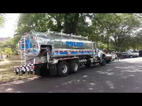 New NYPD FSD Ultra Low Sulfur Diesel Tanker Mobilized At The West Indian Day Parade