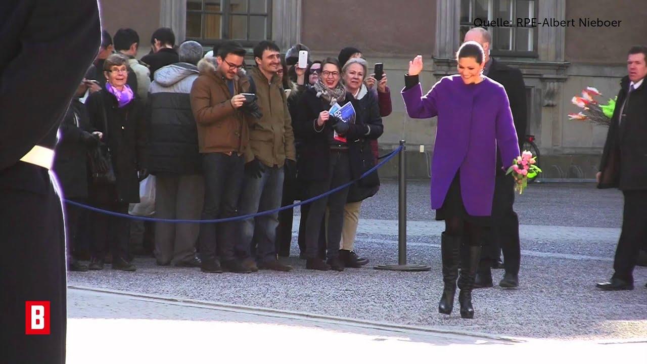 BUNTE TV - Prinzessin Victoria: Wo war Daniel?