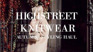 HIGH-STREET KNITWEAR | AUTUMN STYLING HAUL | IAM CHOUQUETTE
