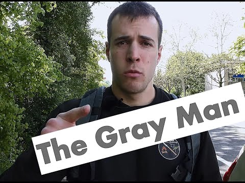 Gray Man Konzept-Sheepdog Mindset