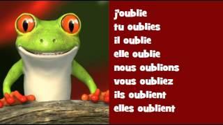 اقتران الموسيقية الفرنسية Verbe Oublier