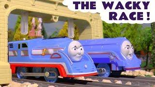 Thomas & Friends Wacky Race between Thomas Train and Gordon with PJ Masks & the funny Funlings TT4U