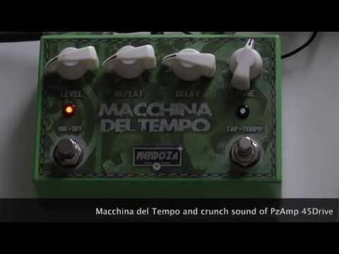 """""""MACCHINA DEL TEMPO"""" DELAY by Mendoza Handmade Pedals"""