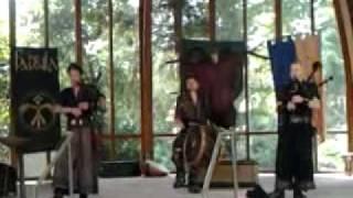 Mittelaltermusik Fabula im Lahrer Stadpark1