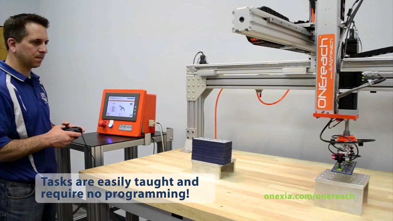 No Programming Required - ONEreach Cartesian Robot