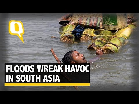 Floods Claim More Lives In India, Nepal and Bangladesh | The Quint