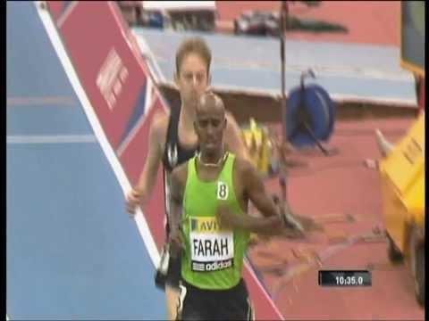 Mo Farah vs.Galen Ruup- 5000m(indoors)2011,Birmingham,UK