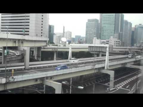 東京モノレル ゆりかもめ 日の出駅から竹芝駅まで