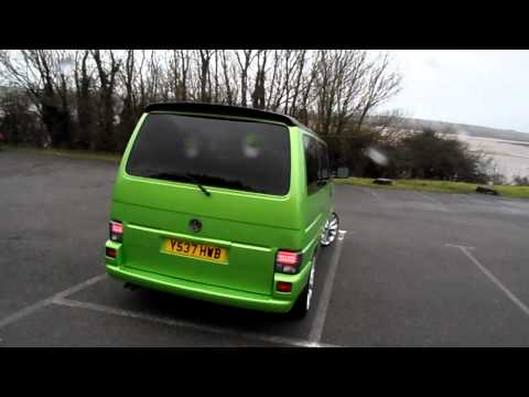 vw transporter t4 viper green www.totallyt4.co.uk
