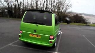 vw transporter t4 viper green www.totallyt4.co.uk