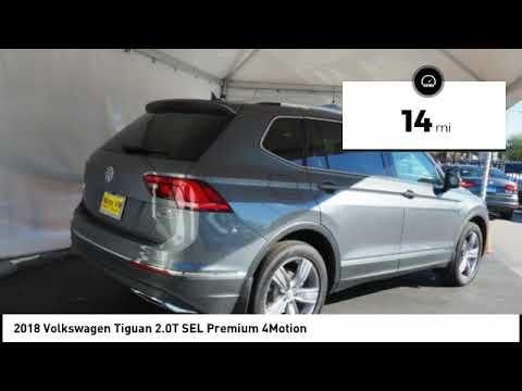 2018 Volkswagen Tiguan Woodland Hills CA N1692