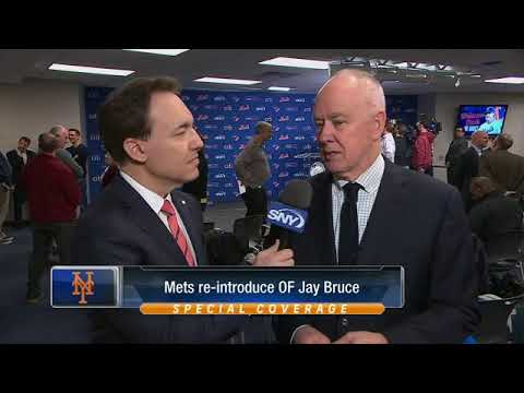 Mets GM Sandy Alderson on trades, Conforto, Bruce, and Dom S